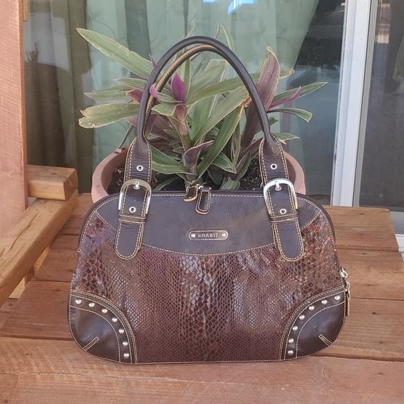 Beautiful unique snake print purse